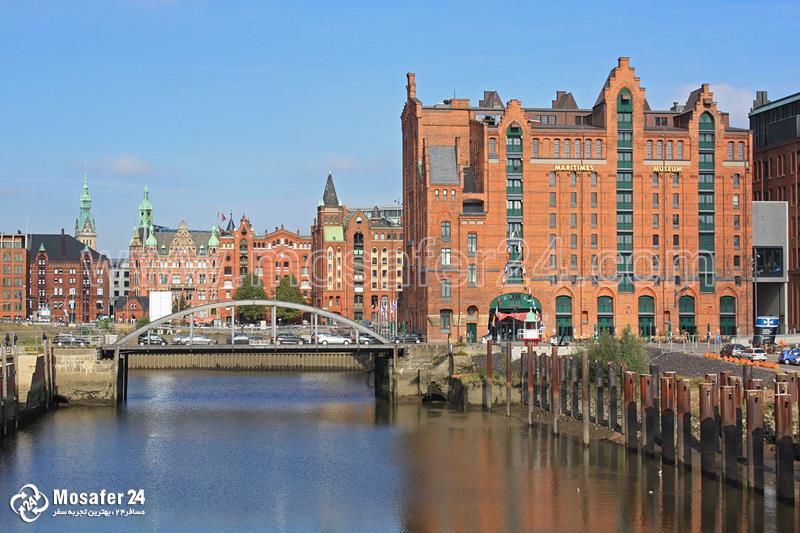 دیدنی شهر آلمان های هامبورگ